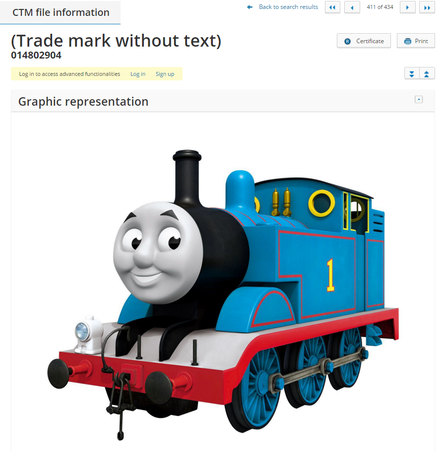The Voice of the Sea, Thomas The Tank Engine, and Michael Jordan – Yesterday's European Trade Mark Filings: