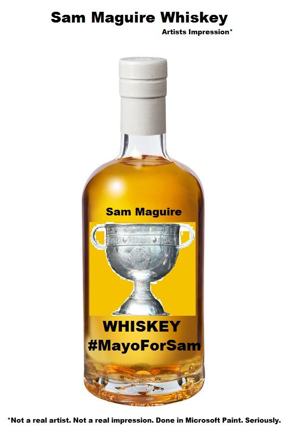 Mayo For Sam – Sam Maguire Whiskey