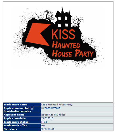 Trademark UK – Lennon Courtney, Conor McGregor & Kiss Haunted House Party