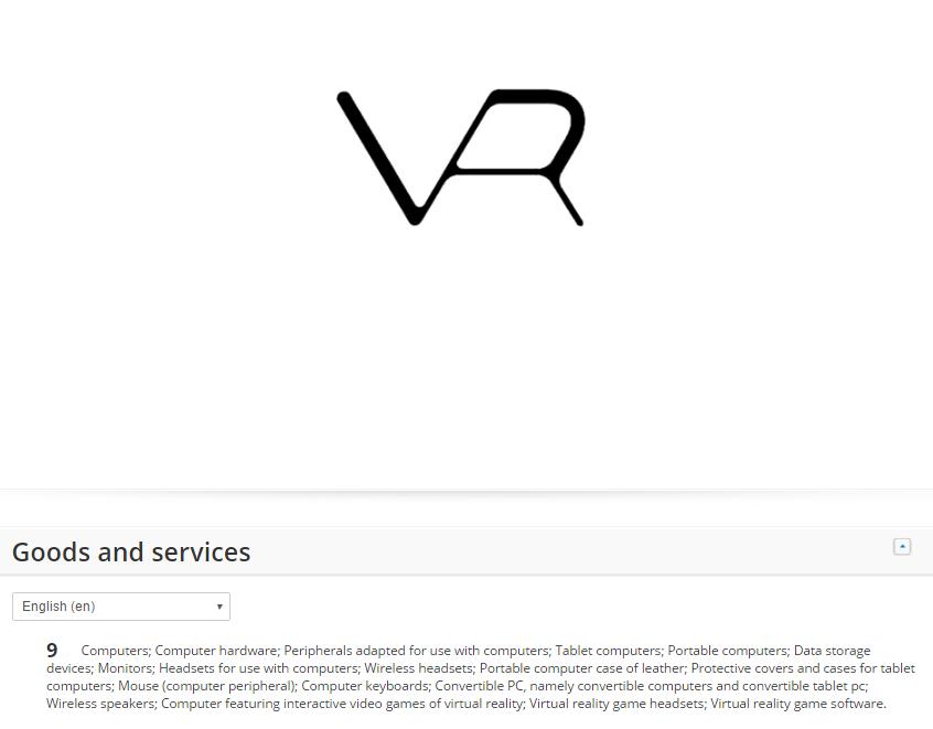 Samsung VR trademark