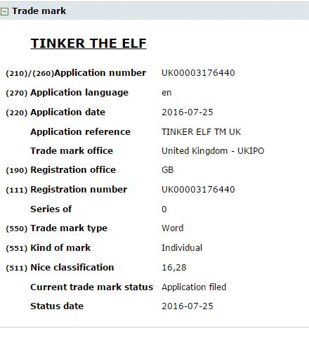 Tinker the Elf