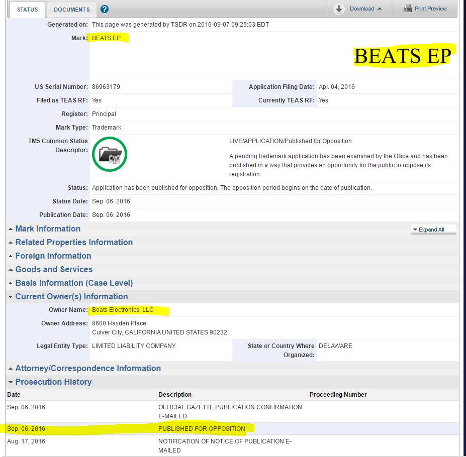 Beats EP bluetooth headphones