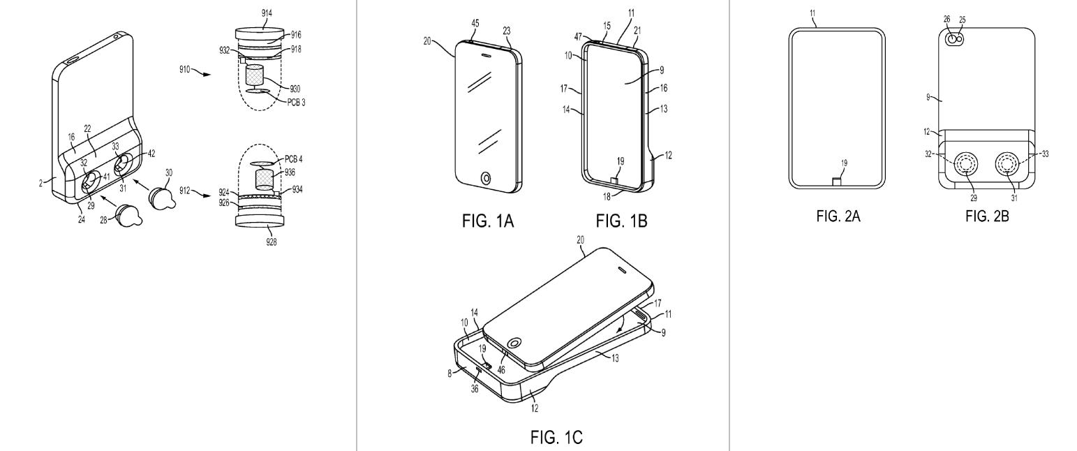Wirless earphone charging case