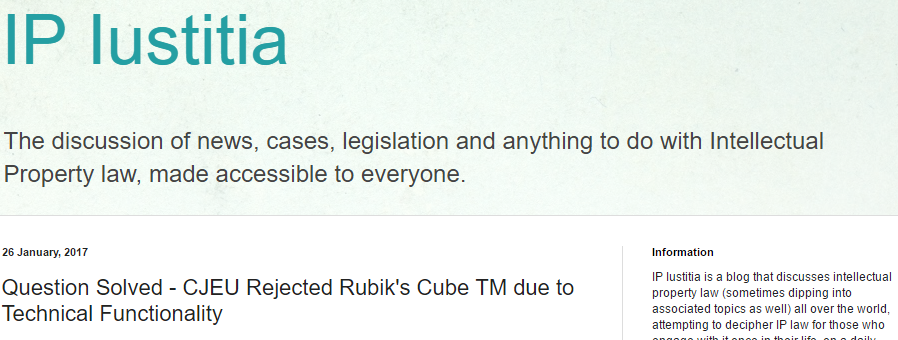 's Decision In Relation To The Rubiks Cube