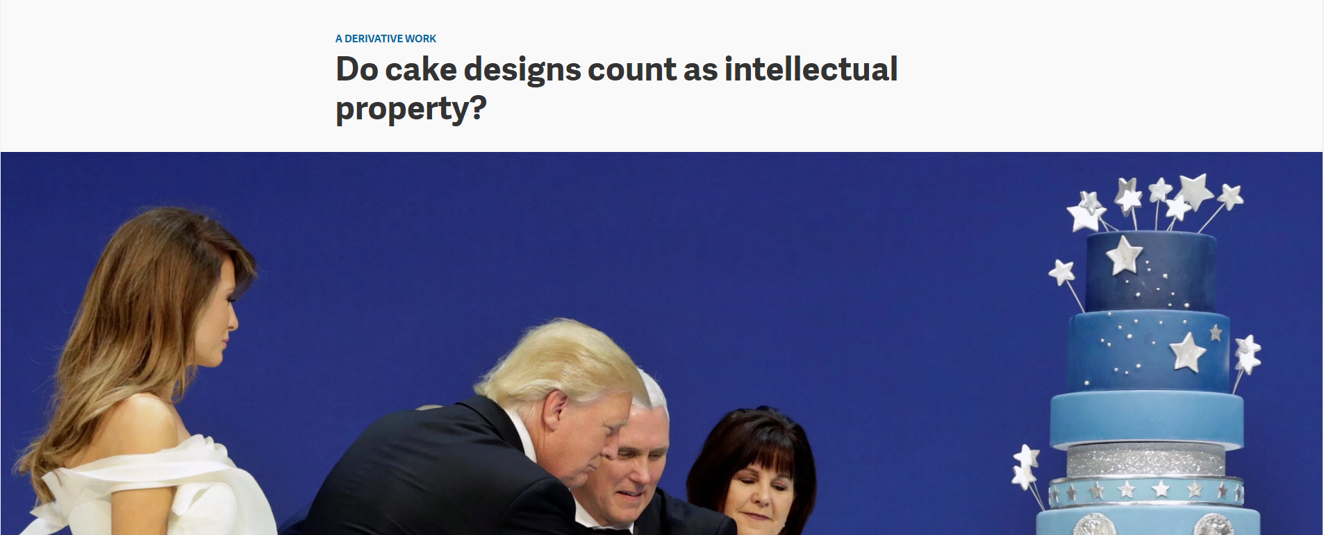 Do Cake Designs Count As Intellectual Propert - Article On Quartz