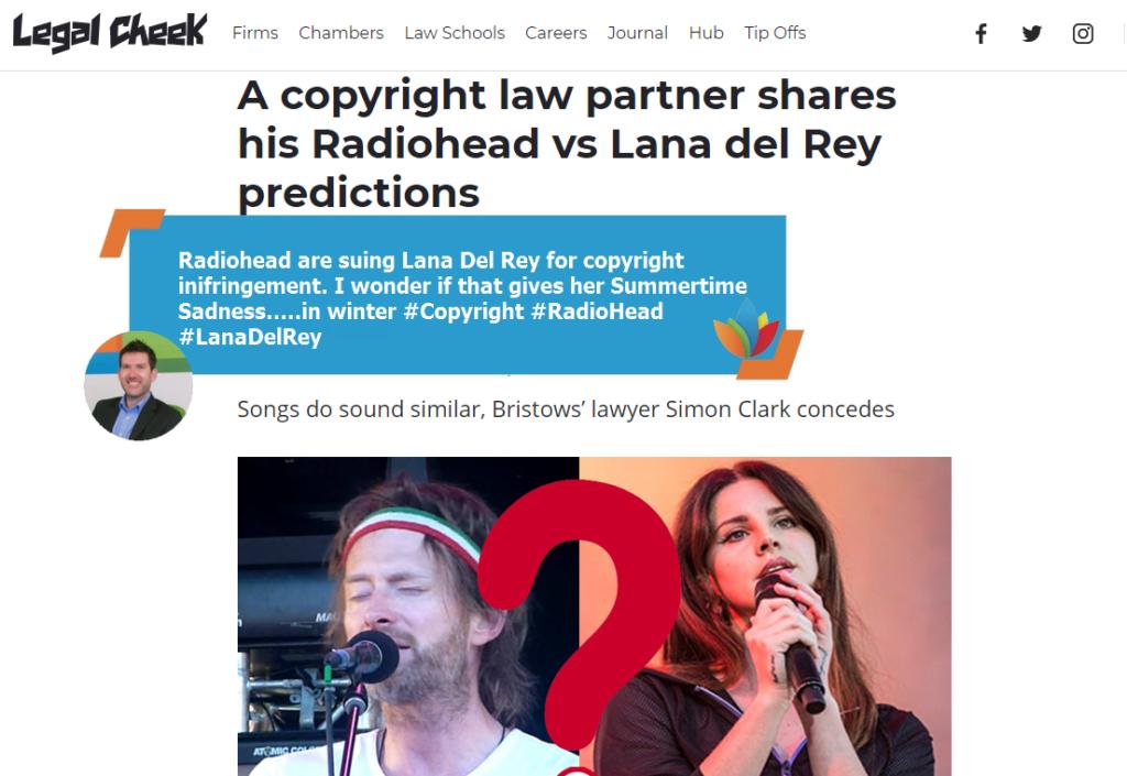 Radiohead, Starbucks and Rum Wars – Today's Interesting IP (9 January 2018)